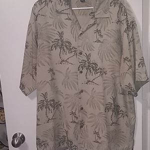 Tommy Bahama Button Down Cruise Shirt Sz L